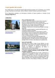 I nuovi giardini del circuito - Clamer Informa