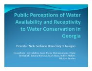 Presenter: Nicki Sochacka (University of Georgia) - National Water ...