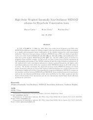 High Order Weighted Essentially Non-Oscillatory WENO-Z schemes ...