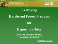Certifying Hardwood Forest Products for Export to China