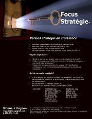 Parlons stratégie de croissance - Québec International