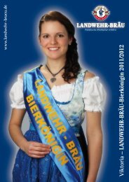 Viktoria – LANDWEHR-BRÄU-Bierkönigin 2011/2012
