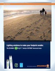 Lighting solutions to make your footprint smaller. - Osram Sylvania