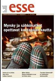 Esse 04/2012 (pdf) - Espoon seurakuntasanomat