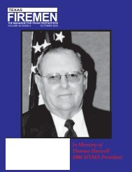 October 2005 - State Firemen's & Fire Marshals'