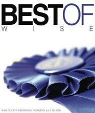 Best of Wise 2009.indd - Wise County Messenger