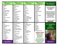 March 2012 Palm Oil Shopping Guide: Current Best ... - Brevard Zoo