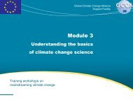 Module 3 - Global Climate Change Alliance