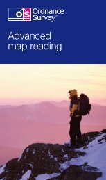 Advanced map reading made easy