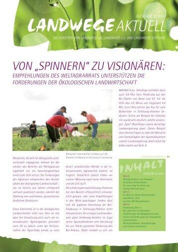 LAW-10318_LANDWEGE Aktuell Ausgabe3_2010 ... - bei Landwege