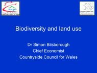 Biodiversity and land use - Rural Economy and Land Use Programme