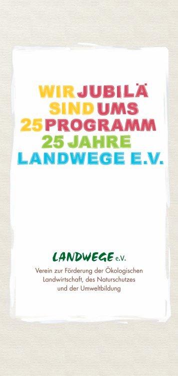Verein zur Förderung der Ökologischen ... - bei Landwege