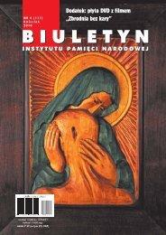 """""""Biuletyn IPN"""" nr 4/2010 poświęcony tematyce katyńskiej - Instytut ..."""
