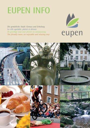 Eupen-Info:Info Broschüre - Stadt Eupen
