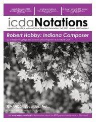 Robert Hobby: Indiana Composer - Indiana Choral Directors ...