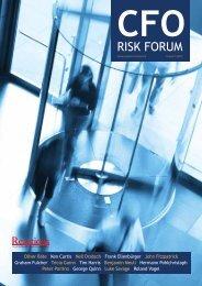 CFO Risk Forum 2012 - Reactions