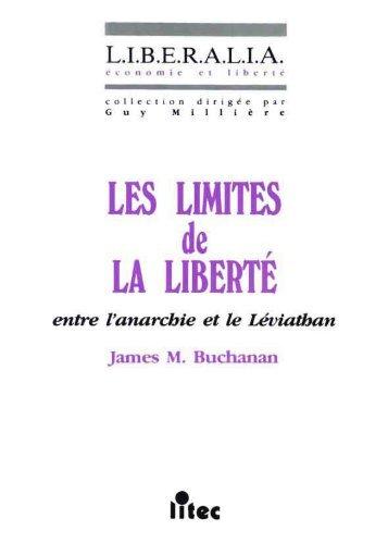 Les limites de la liberté, entre l'anarchie et le - Institut Coppet