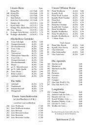 Getraenkekarte-Restaurant-12 - Hotel Zur Post