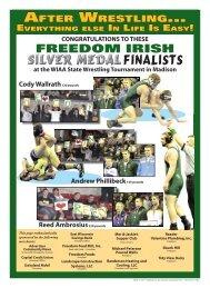 Wrestling Congratulations Page - Advertiser Community News