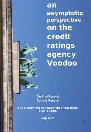 an on the credit ratings agency Voodoo - Asymptotix
