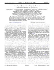 Experimental Demonstration of a Quantum Protocol for Byzantine ...