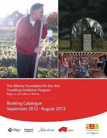 Booking Catalogue September 2012 - Art Gallery of Alberta