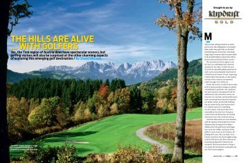 The hills are alive … wiTh golfers - Golf Austria Tours