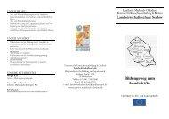 Landwirtschaftsschule Seelow Bildungsweg zum Landwirt/in