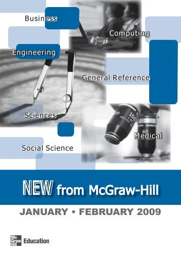NEW from McGraw-Hill - McGraw-Hill Books