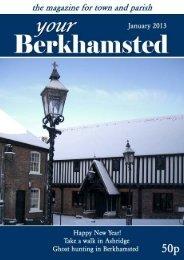 January - St Peter's Church, Berkhamsted, Herts