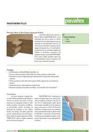 Pavatherm PLUS+ - scheda tecnica - Naturalia Bau