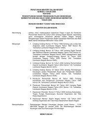 peraturan menteri dalam negeri nomor 2 tahun 2006 tentang ...
