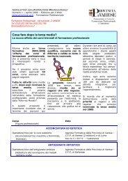 13/04/2005 - la formazione professionale in provincia di varese