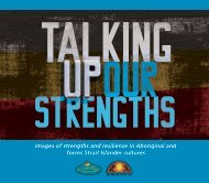 Images of strengths and resilience in Aboriginal and Torres Strait ...