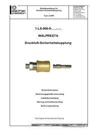 1-LS-006-0 - Carl Kurt Walther GmbH & Co. KG