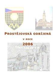 Prostějovská odbíjená v roce 2006
