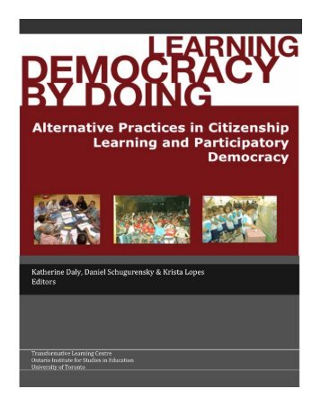 Learning Democracy by Doing Conference - Transformative ...