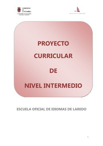 PROYECTO CURRICULAR DE NIVEL INTERMEDIO