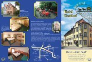 "Zur Post.indd - Hotel-Gasthof "" Zur Post"""