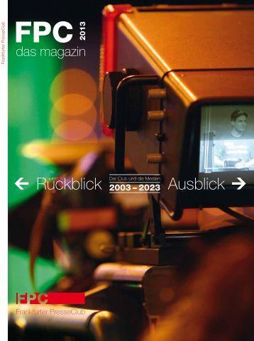 Download als PDF (ca. 10 MB) - Frankfurter Presseclub