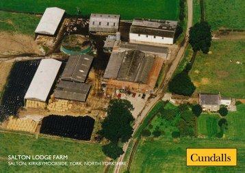 SALTON LODGE FARM - Cundalls