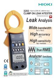 CLAMP ON LEAK HiTESTER