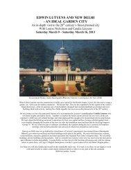 edwin lutyens and new delhi - an ideal garden city - Lutyens Design ...