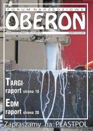 numer 01 (22) 2005 - Forum Narzędziowe Oberon