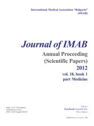 Download Title Page & Editorial Board - Journal of IMAB
