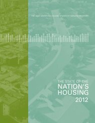 The State of the Nation's Housing 2012 - the Joint Center for ...