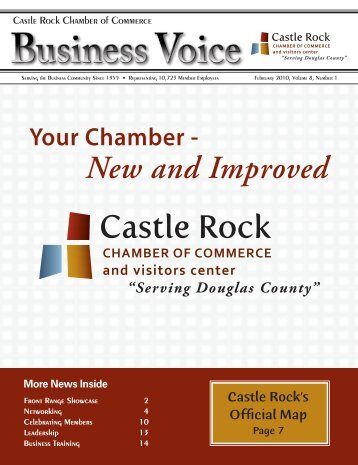 New and Improved - Castle Rock Chamber of Commerce