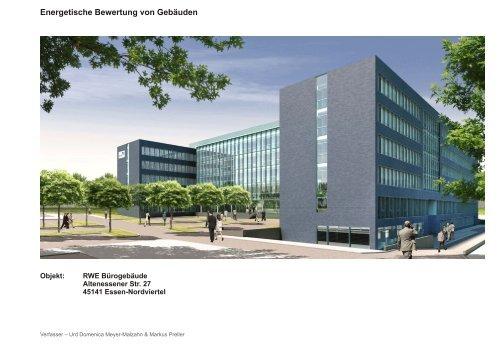Energetische Bewertung von Gebäuden - Scapework