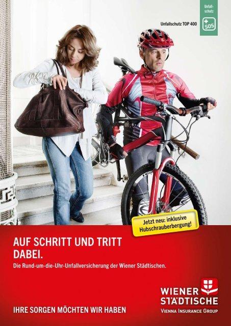 aUF SCHrITT UND TrITT DaBEI. - Wiener Städtische