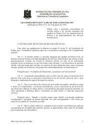 ESTADO DO RIO GRANDE DO SUL ASSEMBLÉIA LEGISLATIVA ...
